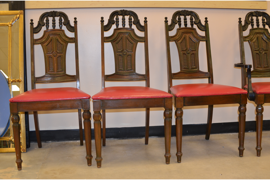 Broyhill four-chair set: $80