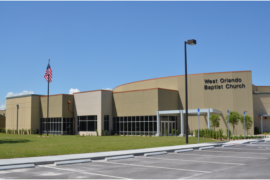 The 31,000-square-foot expansion at West Orlando Baptist Church is complete.