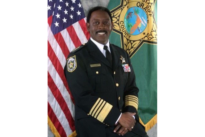 Incumbent Orange County Sheriff Jerry Demings