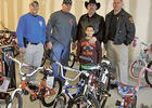 WGPD leading charity bike ride