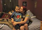 Photo by: Sarah Wilson - London Peoples was diagnosed with an inoperable brain tumor. Now his parents are working to give him six months of happy days.