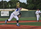 Photo by: Isaac Babcock - Sanford's pitching has helped them dominate from nearly the season start.